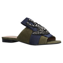 Buy Kurt Geiger Nala Flat Mule Sandals Online at johnlewis.com