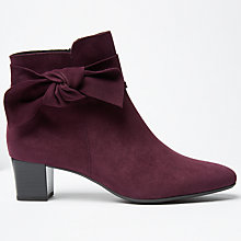 Buy Peter Kaiser Okkani Block Heeled Ankle Boots Online at johnlewis.com