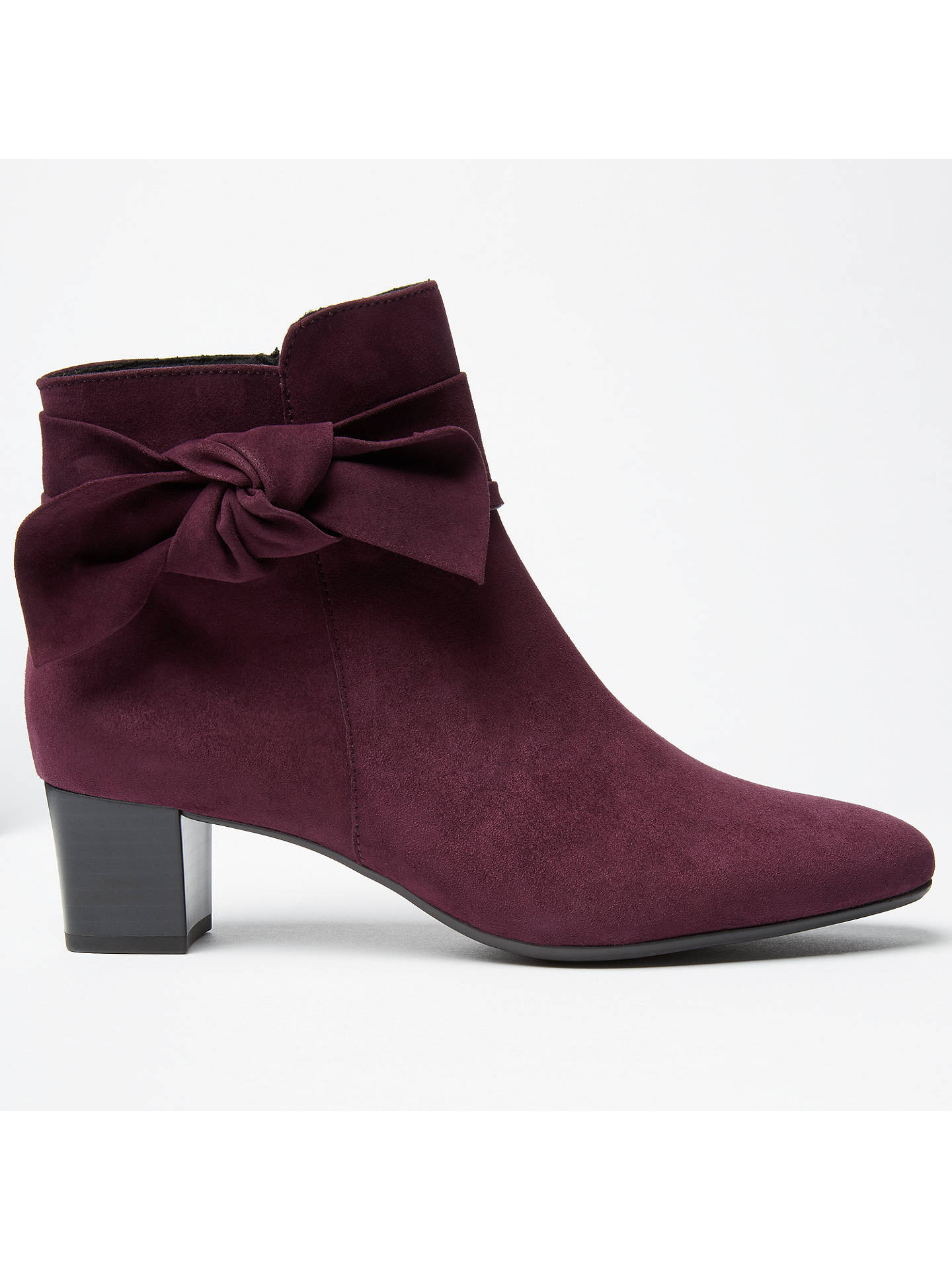 633ecc5c2c2 Peter Kaiser Okkani Block Heeled Ankle Boots at John Lewis & Partners