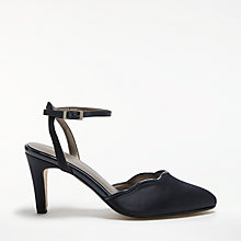 Buy John Lewis Davis Slingback Court Shoes, Navy Online at johnlewis.com