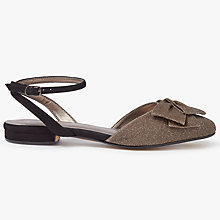 Buy John Lewis Daphne Slingback Sandals, Bronze Comb Online at johnlewis.com