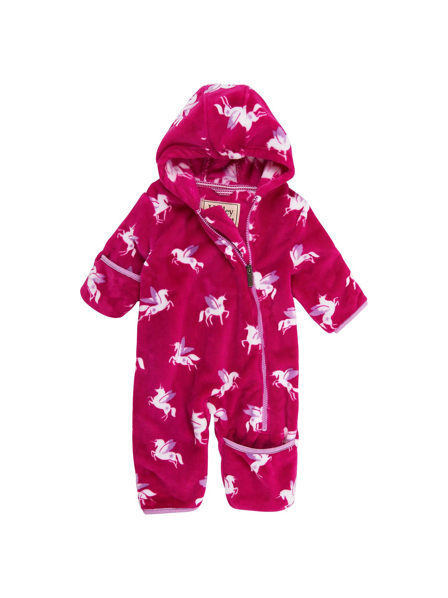 92f08b4554d5 Hatley Baby Winged Unicorns Fuzzy Fleece Bundler