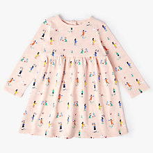 Buy John Lewis Baby Garden All-Over Print Dress, Multi Online at johnlewis.com