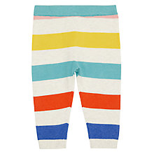 Buy John Lewis Baby Stripe Knit Leggings, Multi Online at johnlewis.com