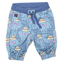 Buy Polarn O. Pyret Baby Elephant Shorts, Blue Online at johnlewis.com