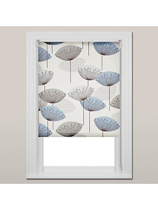Sanderson Dandelion Clocks Daylight Roller Blind, Blue