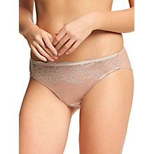 Buy Wacoal Lace Affair Briefs, Rose Dust/Angel Wings Online at johnlewis.com