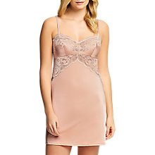 Buy Wacoal Lace Affair Chemise, Rose Dust/Angel Wings Online at johnlewis.com