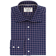 Buy Thomas Pink Hadley Check Classic Fit Shirt, Navy/White Online at johnlewis.com