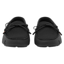 Buy Reiss Swims Waterproof Lace Up Loafers, Black Online at johnlewis.com