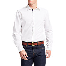 Buy Thomas Pink Snell Plain Classic Fit Shirt, White Online at johnlewis.com