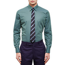 Buy Jaeger Horizontal Weave Regular Shirt Online at johnlewis.com
