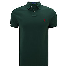 Buy Polo Ralph Lauren Custom Slim Fit Weathered Polo Shirt Online at johnlewis.com