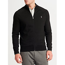 Buy Polo Ralph Lauren Combed Cotton Full Zip Jumper Online at johnlewis.com