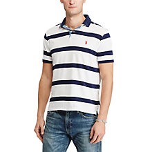 Buy Polo Ralph Lauren Custom Slim Fit Cotton Polo Shirt Online at johnlewis.com