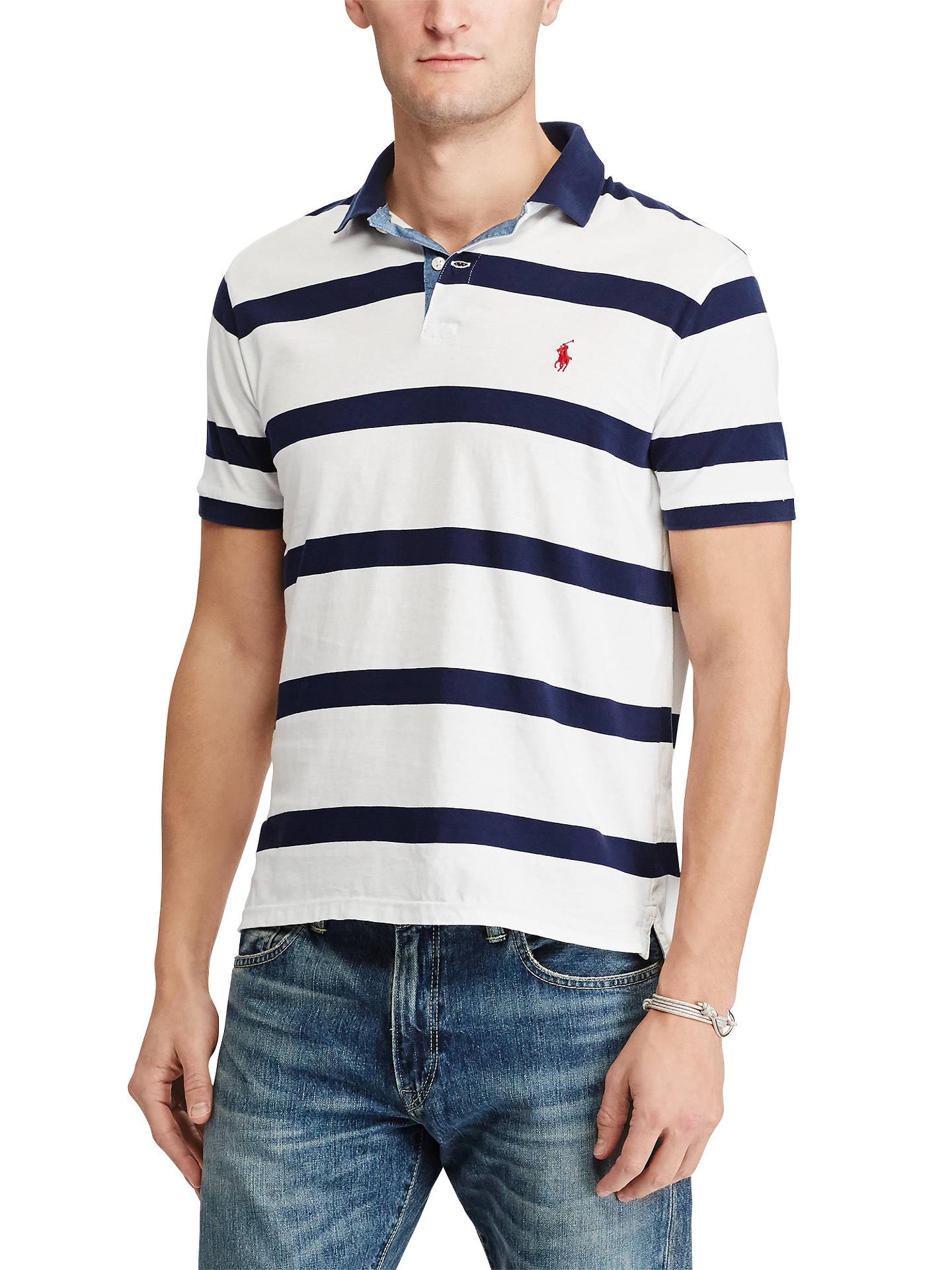 ShirtWhitenewport Ralph Polo Fit Slim Lauren Custom Cotton LRj4A53q