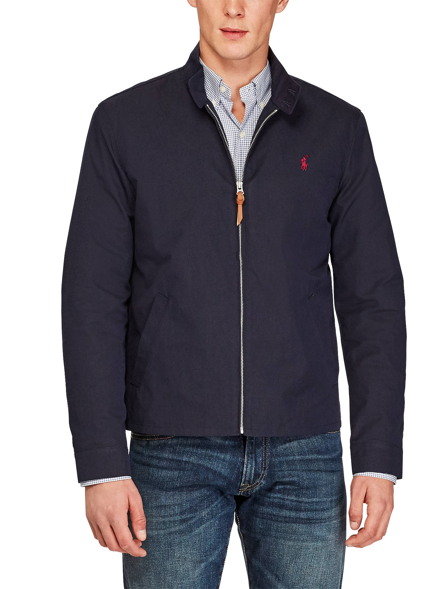 2cac373848ca Polo Ralph Lauren Barracuda Lined Jacket at John Lewis   Partners
