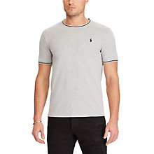 Buy Polo Ralph Lauren Mesh Slim Fit T-Shirt, Spring Heather Online at johnlewis.com