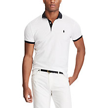 Buy Polo Ralph Lauren Rugby Slim Fit Polo Shirt Online at johnlewis.com