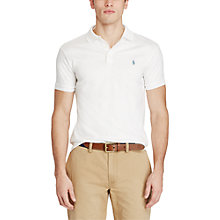 Buy Polo Ralph Lauren Short Sleeve Slim Fit Pima Polo Shirt Online at johnlewis.com