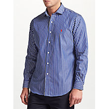 Buy Polo Ralph Lauren Striped Shirt, Blue/White Online at johnlewis.com