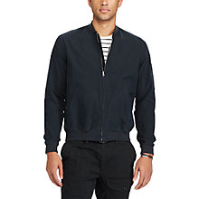 Buy Polo Ralph Lauren Zip Jacket, Polo Black Online at johnlewis.com
