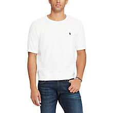 Buy Polo Ralph Lauren Crew Neck T-Shirt, White Online at johnlewis.com