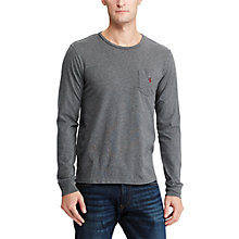 Buy Polo Ralph Lauren Long Sleeve Crew Neck T-Shirt Online at johnlewis.com