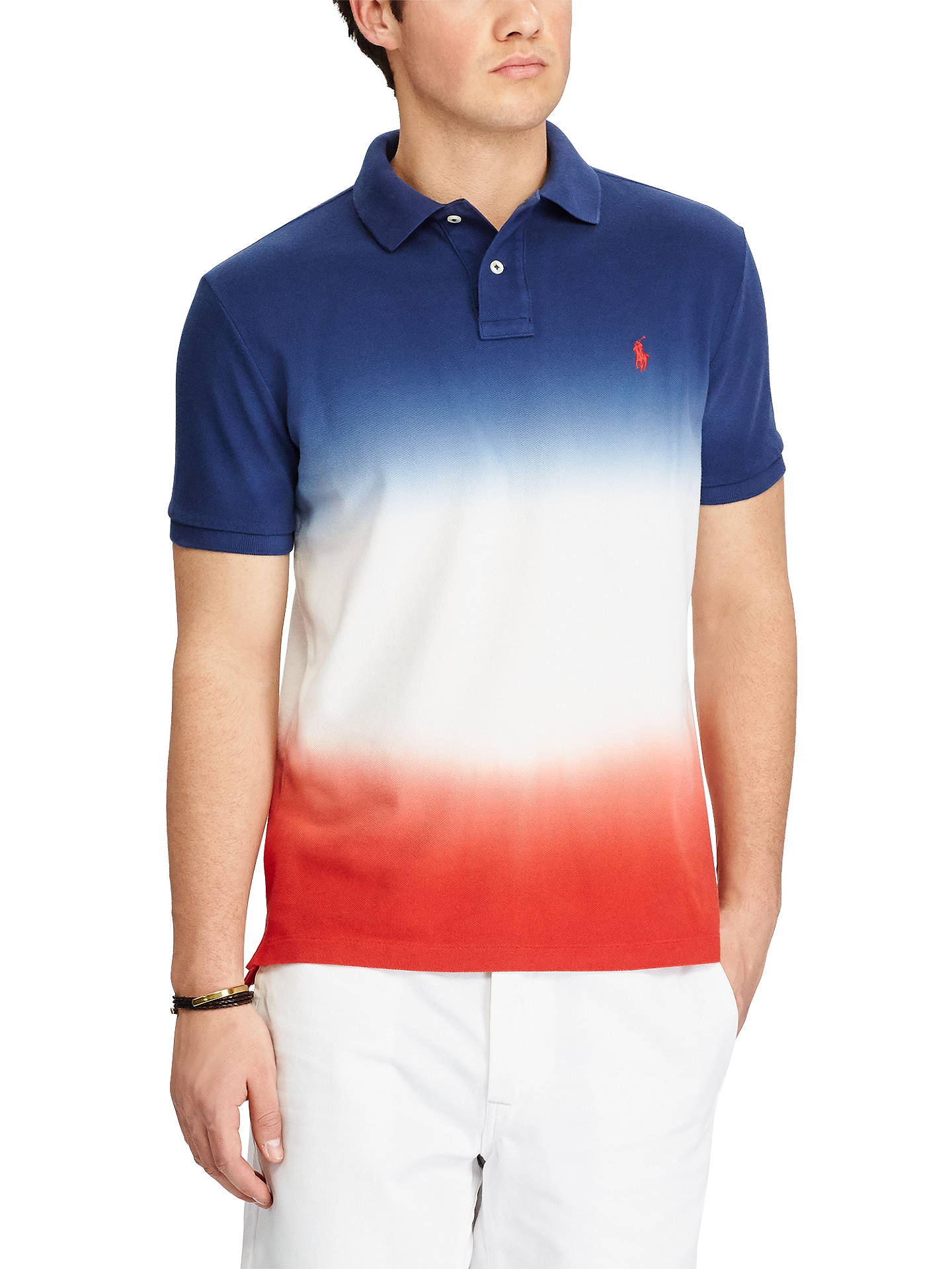 b2acbaa7b Polo Ralph Lauren Custom Slim Fit Cotton Polo Shirt