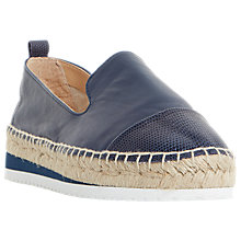 Buy Dune Guest Espadrille Loafers Online at johnlewis.com