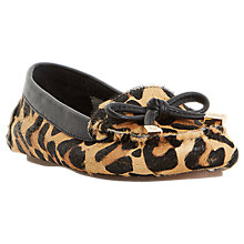 Buy Dune Genovia Bow Soft Moccasins Online at johnlewis.com