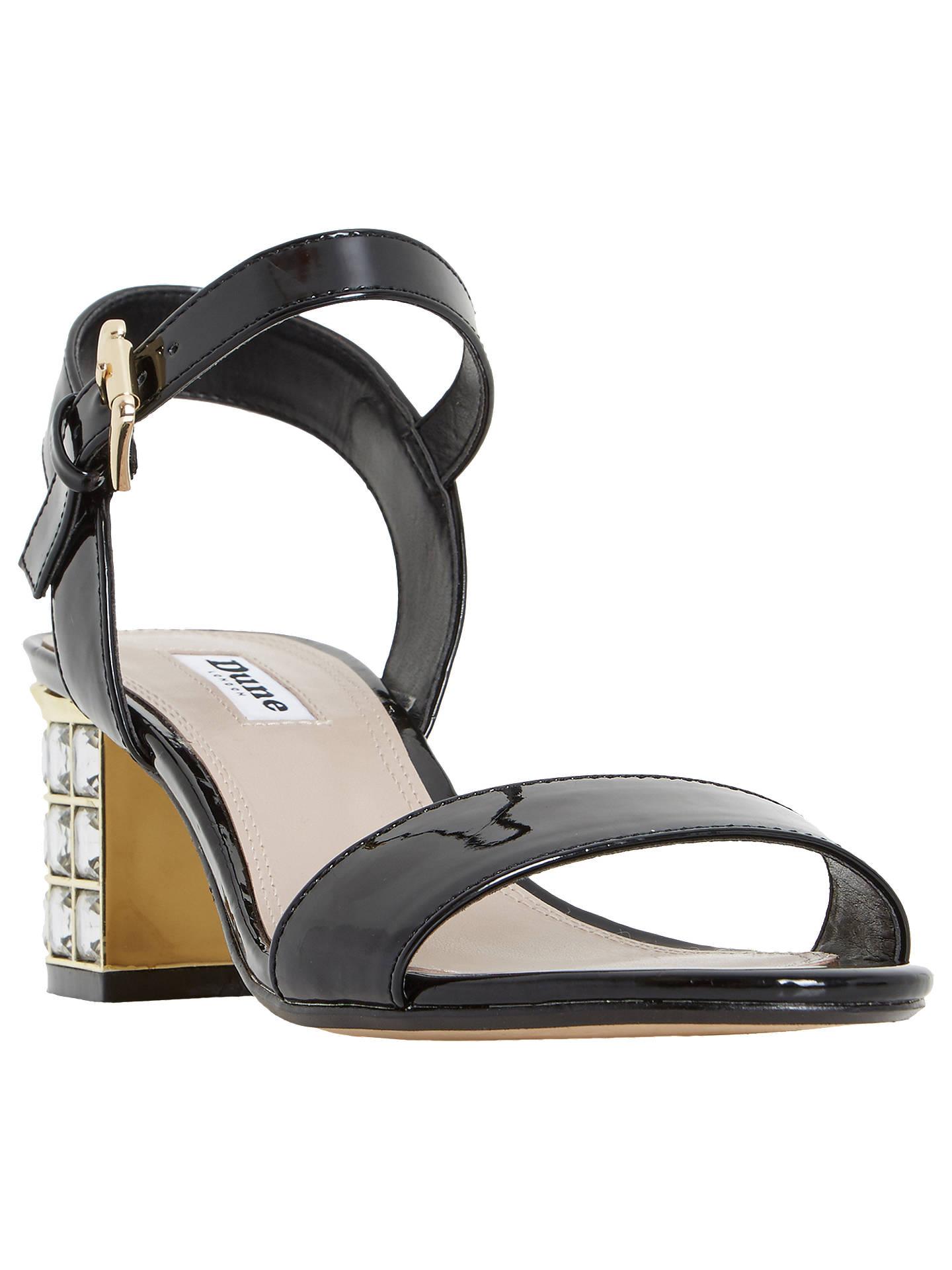 c3227798c5a Dune Harah Jewelled Block Heeled Sandals at John Lewis   Partners