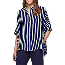 Buy Gerard Darel Casey Blouse, Blue Online at johnlewis.com