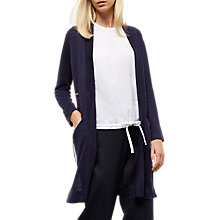 Buy Jaeger Linen Drawstring Cardigan Online at johnlewis.com