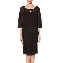 Buy Gina Bacconi Corded Lace Dress And Chiffon Cape Online at johnlewis.com