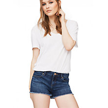 Buy Miss Selfridge Daisy Denim Shorts Online at johnlewis.com