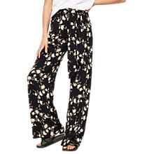 Buy Miss Selfridge Oriental Wide Leg Trousers, Multi Online at johnlewis.com