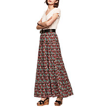 Buy Gerard Darel Palvina Skirt, Black Online at johnlewis.com