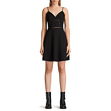 Buy AllSaints Clementine Dress, Black Online at johnlewis.com