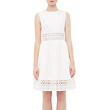 Buy Ted Baker Dayzey A-Line Lace Panel Dress Online at johnlewis.com