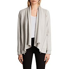 Buy AllSaints Lucia Sweatshirt Cardigan Online at johnlewis.com
