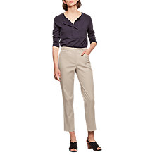 Buy Gerard Darel Padla Trousers, Beige Online at johnlewis.com