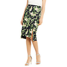 Buy Oasis Tropical Botanical Print Skirt, Multi Online at johnlewis.com