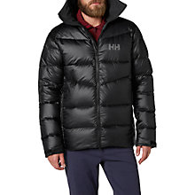 Buy Helly Hansen Vanir Icefall Down Insulated Men's Jacket, Black Online at johnlewis.com