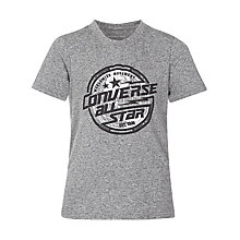 Buy Converse Boys' Lock Up T-Shirt, Grey Online at johnlewis.com