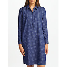 Buy Collection WEEKEND by John Lewis Ditsy Denim Dress, Blue Online at johnlewis.com