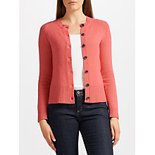 Buy Collection WEEKEND by John Lewis Cashmere Lofty Crew Cardigan Online at johnlewis.com