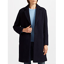Buy Collection WEEKEND by John Lewis Moxie Cocoon Coat, Navy Online at johnlewis.com