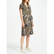 Buy Minimum Gunna Printed Dress, Olive Night Online at johnlewis.com