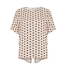 Buy Minimum Janika Printed Top, Mushroom Online at johnlewis.com